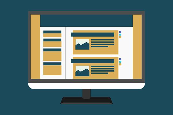 Un modèle de site vitrine à personnaliser, Agence Rosaleen